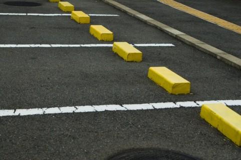 駐車場の違法駐車対応