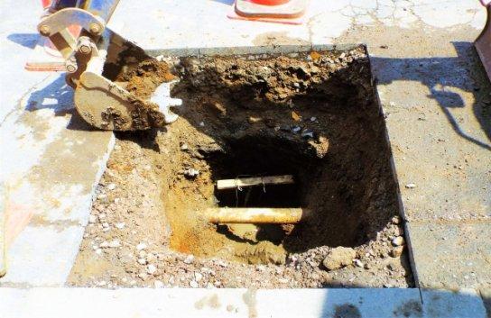 水道の埋設管調査